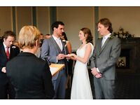 Register Office Wedding Photography from only £75