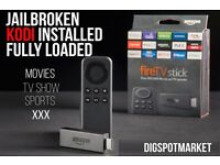 Brand New Amazon Fire stick fully loaded with a great kodi build.