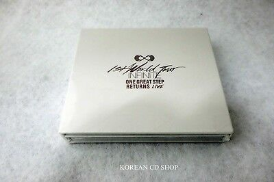 Infinite - One Great Step Returns Live (2CD) + FREE GIFT  *SEALED*