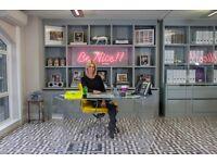 Caroline Stanbury Ladies of London Perspex WOW Desk worth over £4000