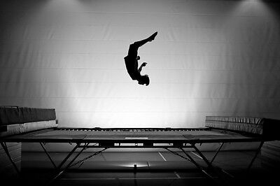 Serious athletes should choose a large rectangle trampoline