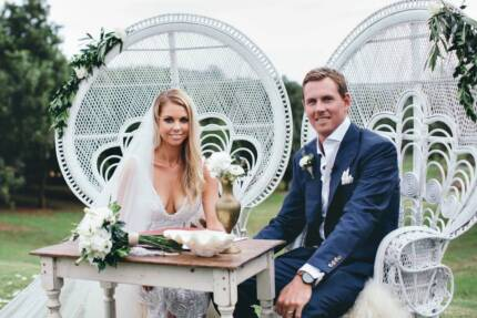 Rustic wedding decor hire party hire gumtree australia gold peacock chair hire boho hire wedding styling decorations junglespirit Images