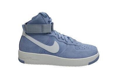 Mens Nike Air Force 1 Ultraforce Hi - 880854004 - Glacier Grey Summit White