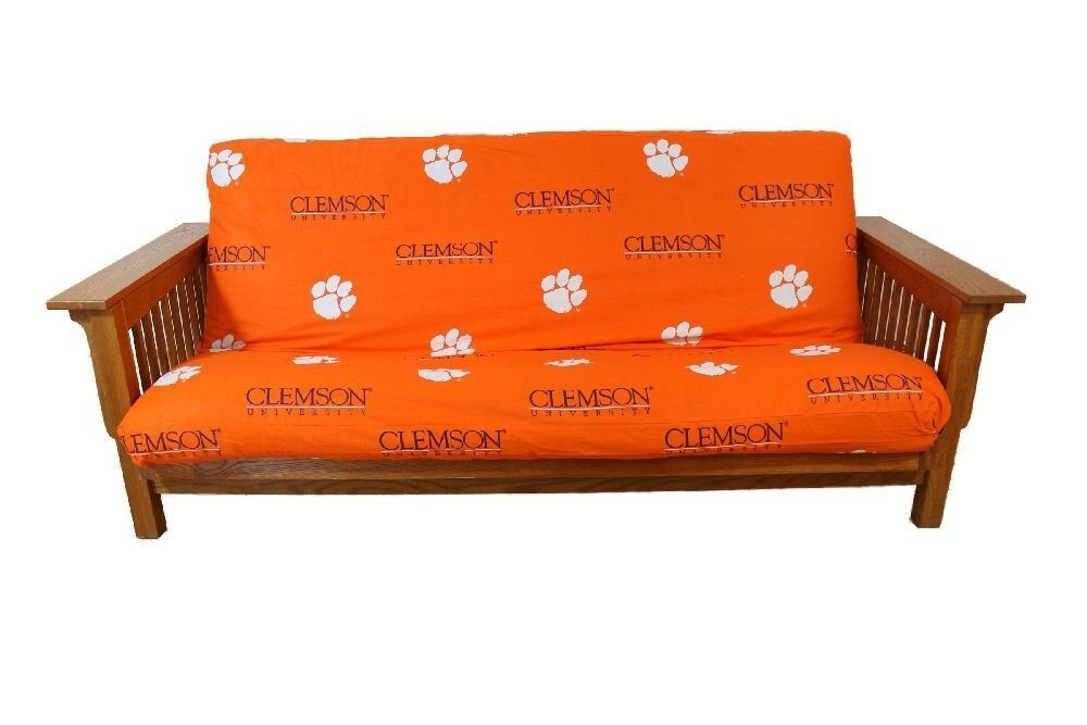 College Covers CLEFCL Clemson Tigers Futon Cover Full Size F