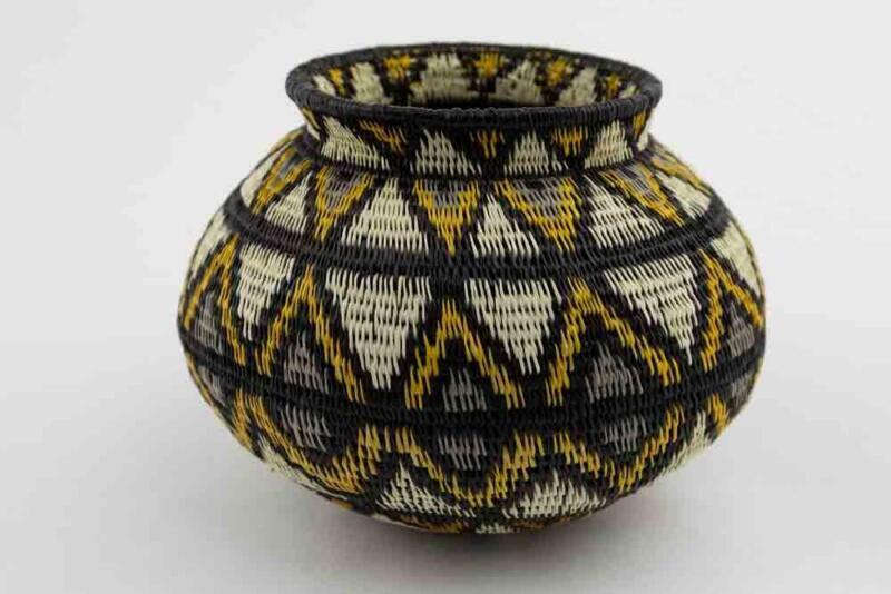 Wounaan Indian Hand Woven Extraordinary Design Basket Panama