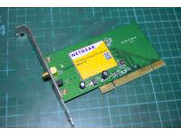 Netgear 108Mbps Wireless PCI adapter - WG311T