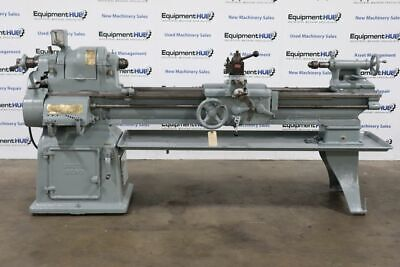South Bend Cl-117e 16 X 57 Step Pulley Toolroom Lathe