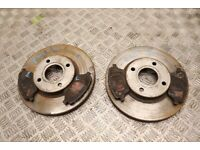 FORD FIESTA MK7 FRONT BRAKE DISCS WITH PADS 2013-2017 EA13O