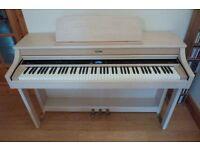 Roland HP207e Digital Piano in Light Ash colour – Fantastic Condition