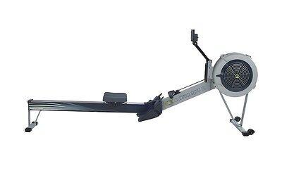 Fitnessgerät Concept 2 Rudertrainer D PM5 Grau Rudermaschine