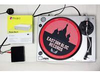 Direct Drive Turntable + Project Phono Box E Pre-amp