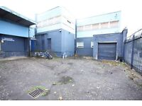 Car sales yard located next to M74, space for