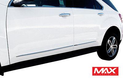 2011-2017 Chevrolet Equinox Lower Chrome Streamline Side Door Body Molding Trim