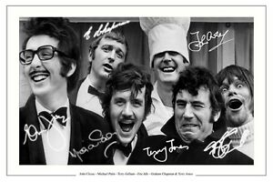 MONTY-PYTHON-AUTOGRAPH-SIGNED-PHOTO-PRINT-JOHN-CLEESE-MICHAEL-PALIN-ERIC-IDLE
