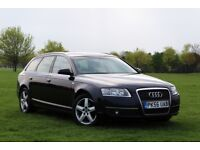 2007 AUDI A6 2.0 TDI AVANT ESTATE 2 OWNERS DIESEL FULL HISTORY CLEAN A4 S LINE
