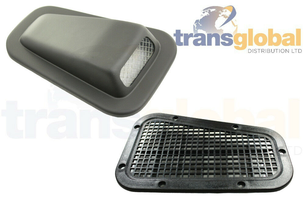 LH Wing Top Heater Air Intake Scoop /& RH Blanking Vent for Land Rover Defender