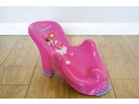 Disney anatomic bath support seat (Minnie Mouse) pink