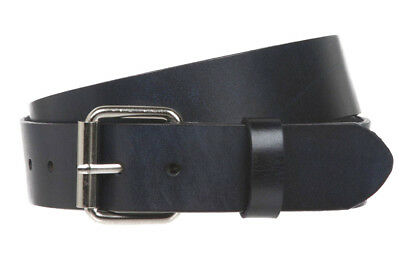 - Black Leather Belt USA Made 1 1/2