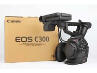 (Boxed Canon C300) Cinema 35mm EOS Camcorder PL Mount with only 985 hours