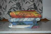 NEW FLORAL PRINT QUEEN FUTON COVER