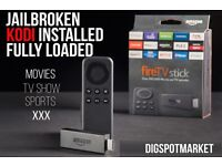 Brand New Amazon Fire stick with built in kodi build