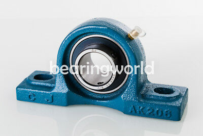 New Ucak207-20 High Quality 1-14 Low Shaft Height Pillow Block Bearing