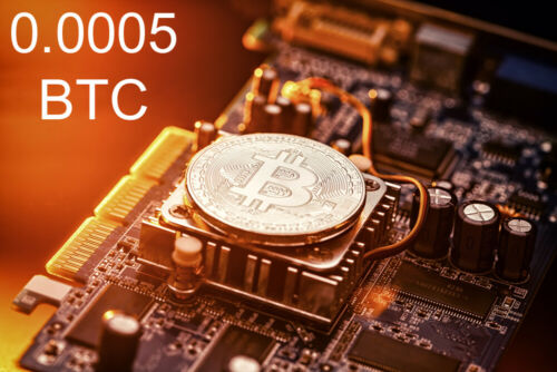 Bitcoin Mining Contract 4 Hours  Get BTC in Hours not Days 0.0005 BTC Guaranteed