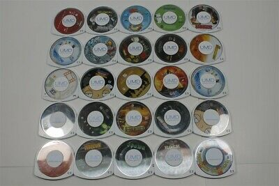 Lot of 25 PSP UMD Movies - Talladega Nights, Alien, Pirates of the Caribbean