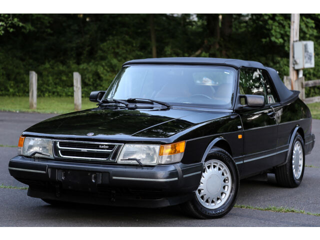 Saab : 900 1991 SAAB 900 TURBO Convertible Auto Low 90K Miles BRAND NEW TOP RARE Garaged