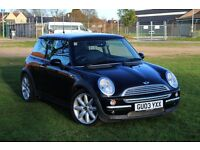 2003 MINI COOPER 1.6 AUTOMATIC LOW MILES! PANORAMIC ROOF! JUST SERVICED! MOT 2018 COOPER S ALLOYS