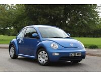 VOLKSWAGEN BEETLE 1.6 69K LOW MILES TIDY EXAMPLE DRIVES SUPERB VW