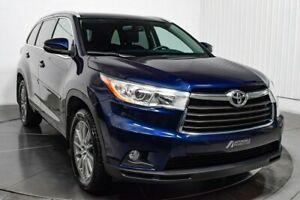 2015 Toyota Highlander XLE AWD V6 CUIR TOIT MAGS NAV 7 PASSAGERS