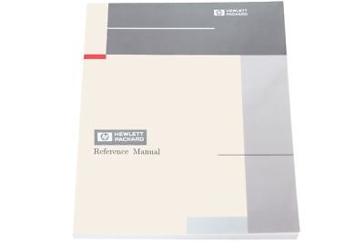 Hewlett Packard HP D-11895-E 011895-A02 Managing NCS Software New Manual