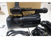 Canon XF105E Professional HD Handheld Camcorder Video camera with 1/3 CMOS Sensor and 10x Zoom Lens