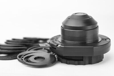 Nikon Alphaphot Microscope Condenser Darkfield Polarizing Oblique Insert Set