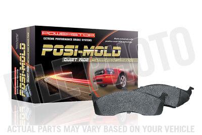 Disc Brake Pad Set-Posi-Mold Carbon Matrix Metallic Disc Brake Pad Front