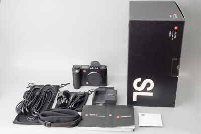 Leica SL (Typ 601) Full Frame Mirrorless Digital Camera Body, Boxed