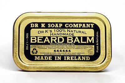 DR K SOAP BALSAMO PER BARBA BEARD BALM 50GR CURA DELLA BARBA LUNGA BEARD CARE