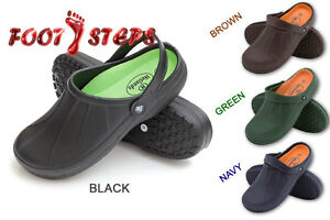 Mens Garden Kitchen Hospital Work Clogs Shoes Slip On Mules Ebay