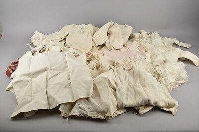 h1s24- Konvolut alte Wäsche/ Puppenwäsche/ Kleidung für Kinder