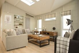 2 BEDROOM LODGE FOR SALE IN THE YORKSHIRE DALES, NEAR INGLETON FALLS, RIVERS EDGE, MALHAM, SKIPTON