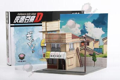 1:64 YumeBox Initial D Takumi Fujiwara Tofu Shop Diorama Display Model Kit Set