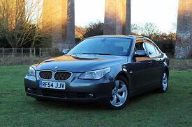 2005 BMW 525D SE AUTOMATIC LOW MILES! FULL HISTORY NO FAULTS DIESEL! CLEAN 5 SERIES E60 530D M SPORT