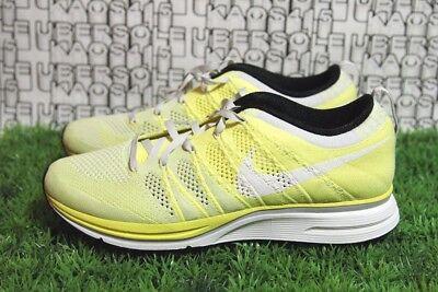 RARE Nike Flyknit Trainer Pale Frozen Yellow Yeezy 532984 710 MEN 8,WOMEN 9.5 qs