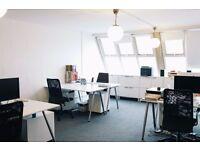 Sunny desk space in Brixton Studio