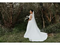 Beautiful Pronovias Wedding Dress 10-12