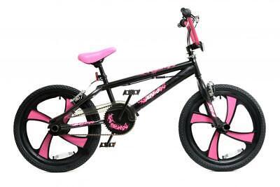 "XN-6-20 BMX Bike Womens Girls Freestyle 20"" MAG Wheel Gyro Stunt Pink Adult"