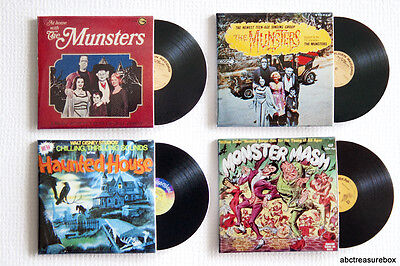 The Munsters, Monster Mash, Disney's Haunted House, Miniature Record Albums - Disney Halloween Album