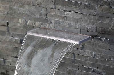 Design Wasserfall 30 cm aus Acryl mit LED Beleuchtung