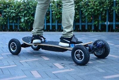 Stunning Electric Skateboard Double Motor Power 2x1350W Electric Longboard 2018